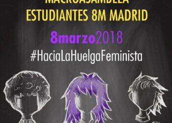 Una semana de acciones para llamar a todas las estudiantes a la Huelga feminista