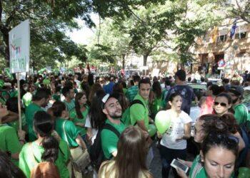 Sindicato de Estudiantes: «¡No al Pacto del PP y Ciudadanos contra la Educación Pública!»