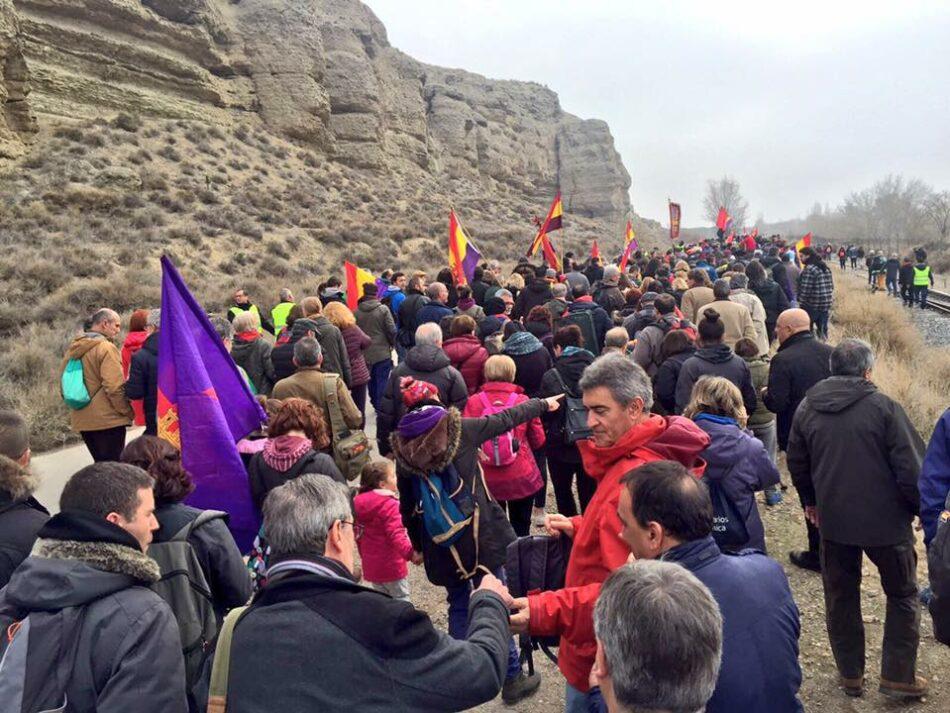Gran participación en la XI Marcha del Jarama 2018
