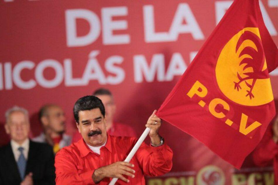 PCV aclama a Maduro como su candidato presidencial tras lograr acuerdo con el PSUV