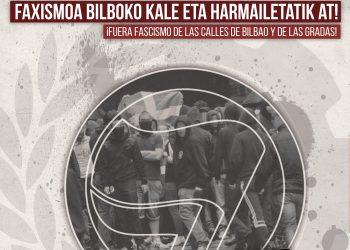 Athletic – Spartak Moscú, violencia fascista en las calles de Bilbao