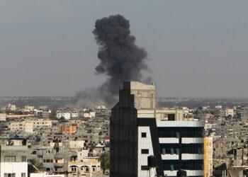 Israel ataca sede de Hamás en la Franja de Gaza