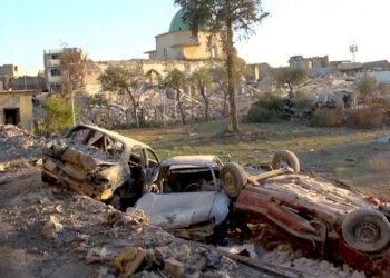 Luego de tres años de bombardeos, Estados Unidos se rehúsa a destinar fondos para la reconstrucción de Irak