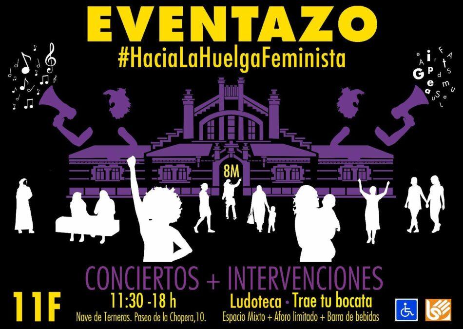 «El eventazo»: gran acto de apoyo público a la Huelga feminista del próximo 8 de marzo