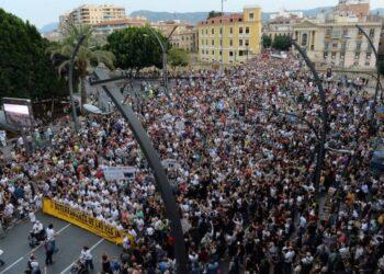 El PCE denuncia la campaña de criminalización contra el movimiento vecinal en Murcia