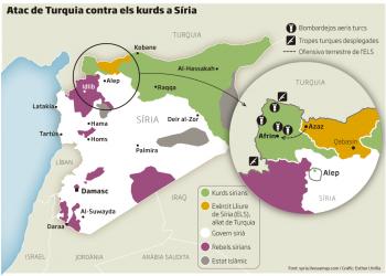 Barcelona En Comú exigeix el cessament immediat de l'agressió turca contra Afrin a Síria