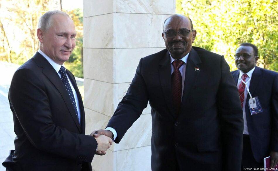 Sudán anuncia una alianza con Rusia