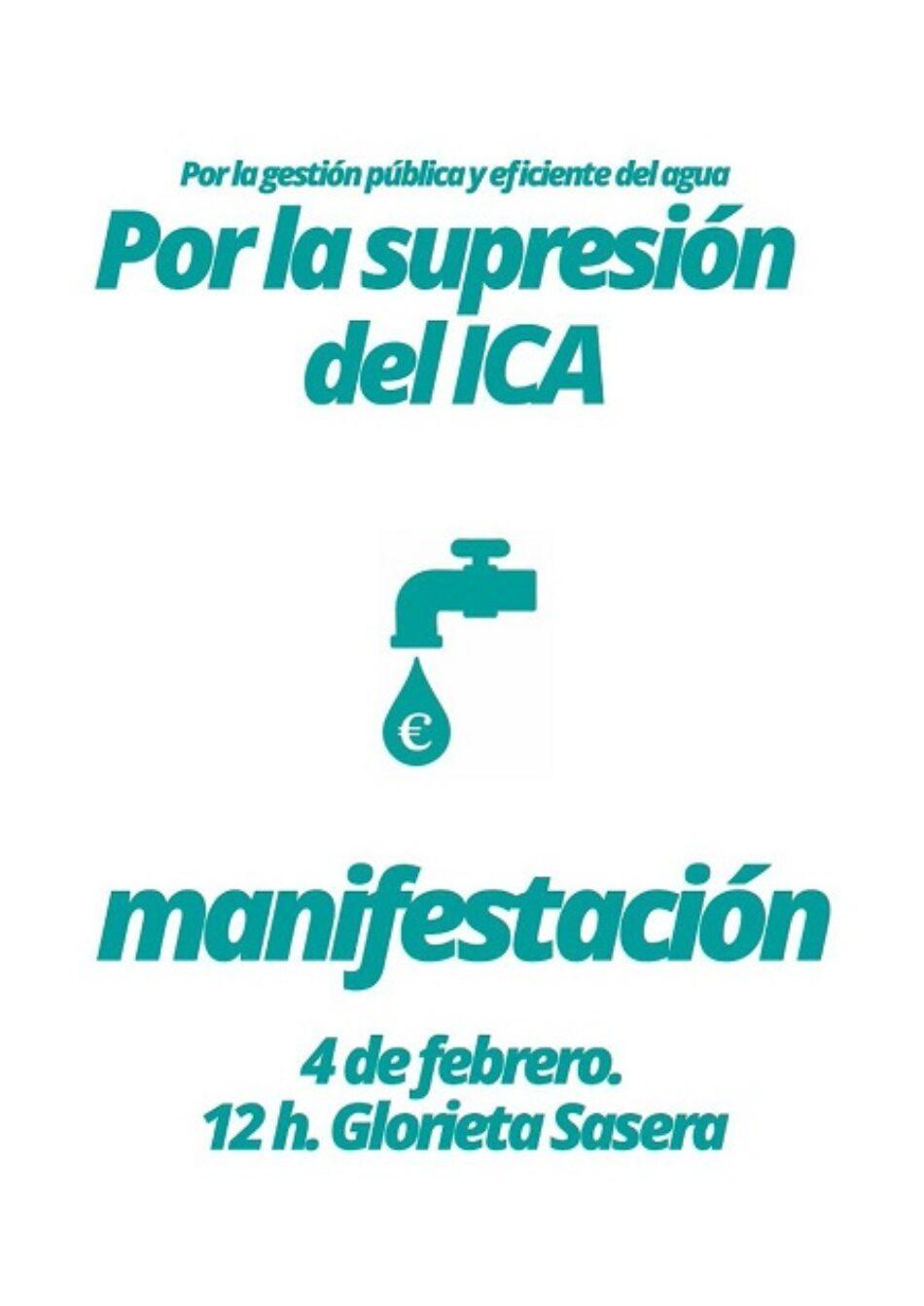 La UJCE y el PCE ante la manifestación por la supresión del ICA