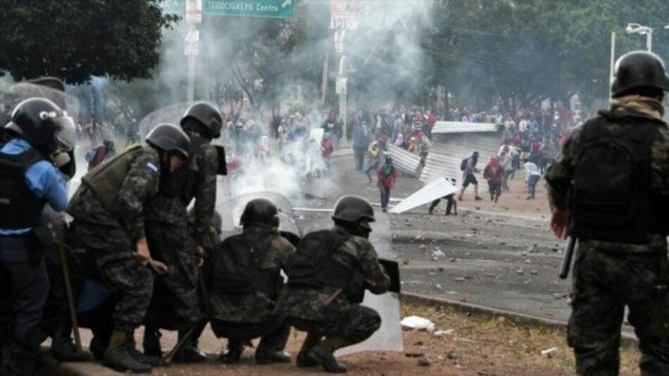 Represión de manifestantes deja otro muerto en Honduras