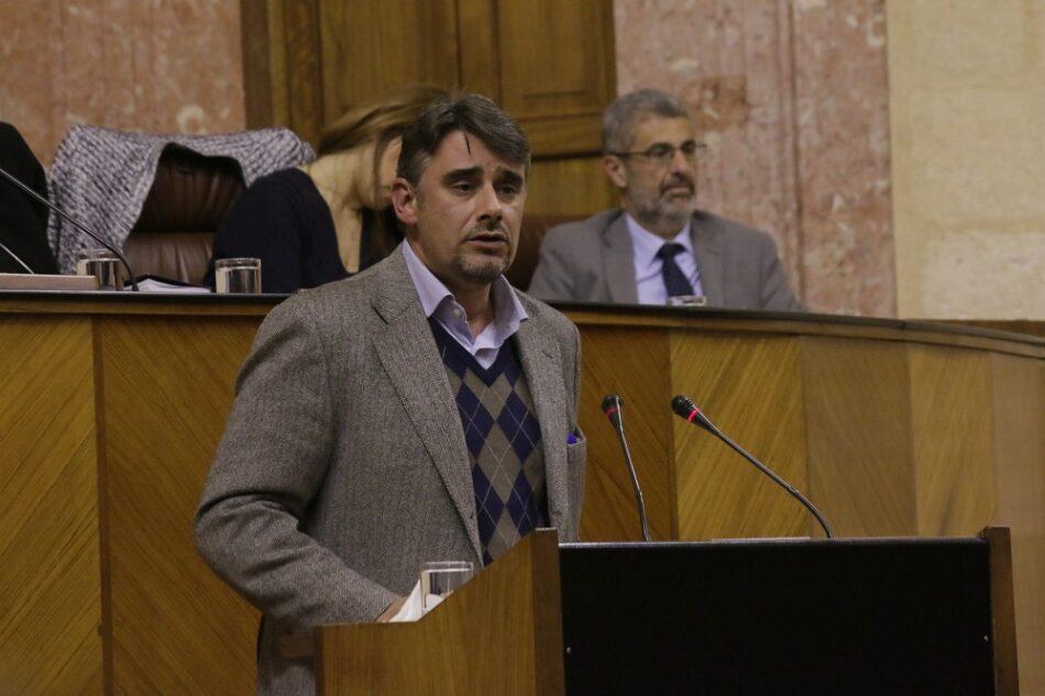 Rodríguez acusa a PSOE, PP y C´s de presentarse «como cómplices de cada uno de los desahucios que se produzcan en Andalucía por falta de información» por el veto a la Ley de Titulizaciones de Podemos