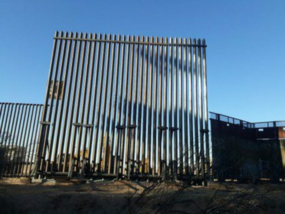 México. De hierro y descomunal, el nuevo tramo del muro fronterizo