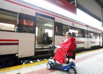 Izquierda Unida exige al Gobierno de Rajoy que cumpla y garantice la accesibilidad universal en toda la red ferroviaria
