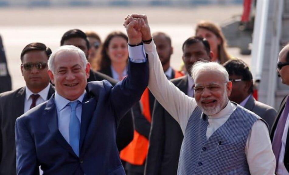 Israel, un caballo de Troya en India