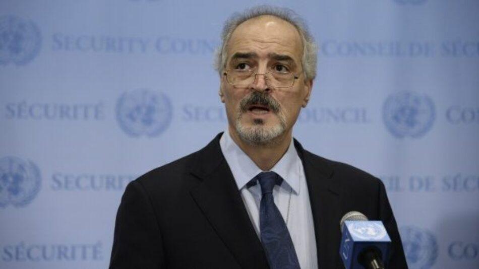 Siria pide ante la ONU respeto a su soberanía
