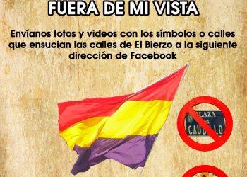 """El PCE de El Bierzo pone en marcha la campaña: """"Símbolos Franquistas, ¡Fuera de mi vista!"""""""