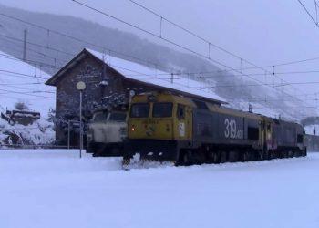 EQUO condena la gestión de los ferrocarriles asturianos durante el temporal
