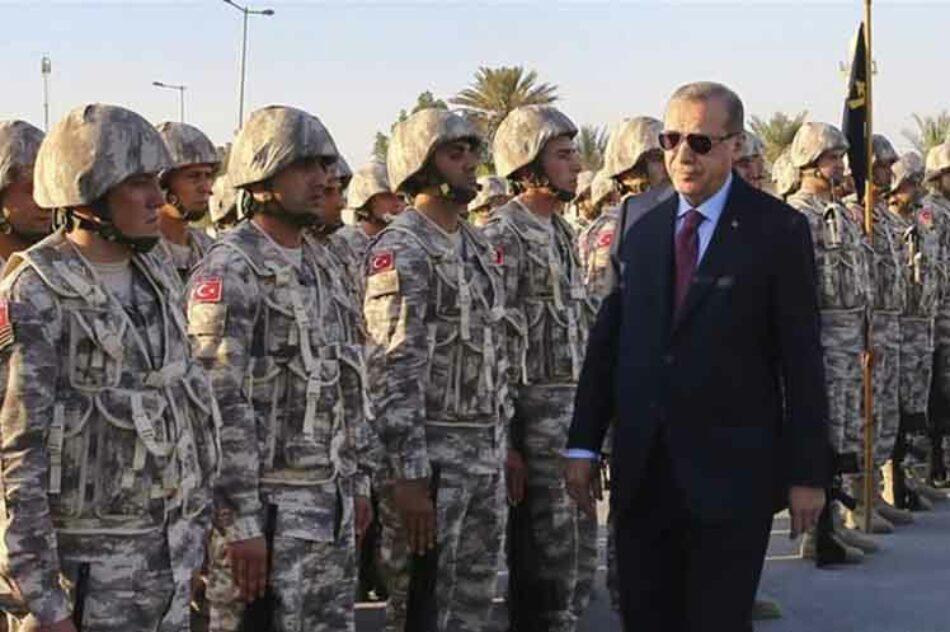 Turquía desplegará fuerzas navales y aéreas en Qatar