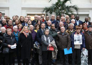Homenaje a las víctimas madrileñas de los campos de concentración nazis