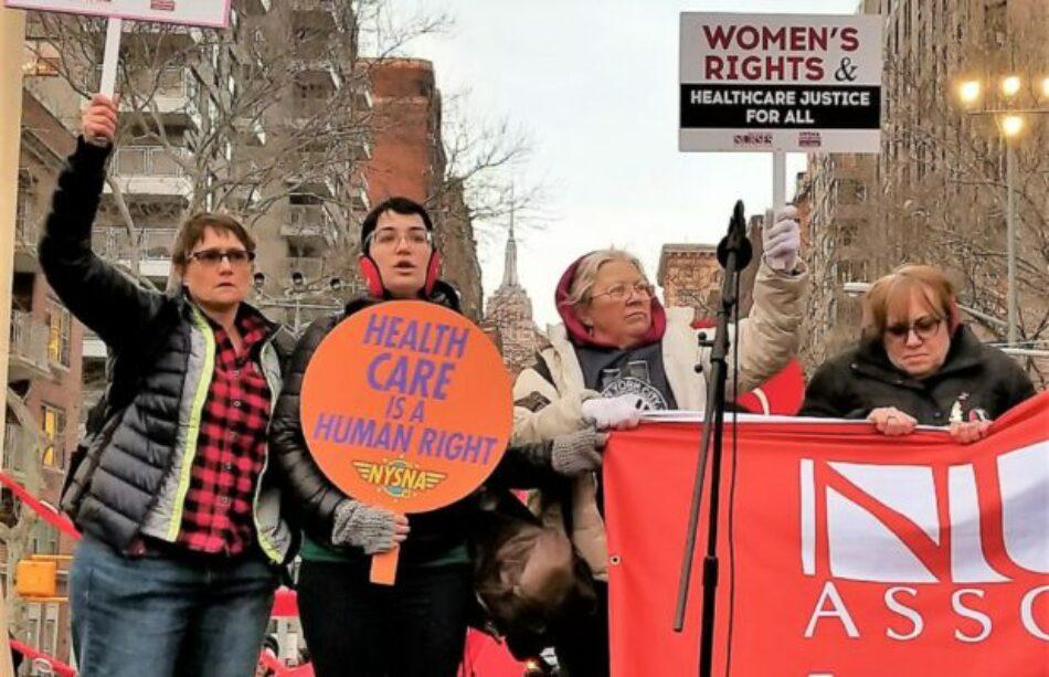 Paro Internacional de Mujeres. Una importante movilización recorrió las calles de Nueva York