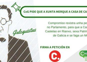 Compromiso por Galicia leva ao Parlamento Galego a petición para que a xunta merque a casa de Castelao en Rianxo