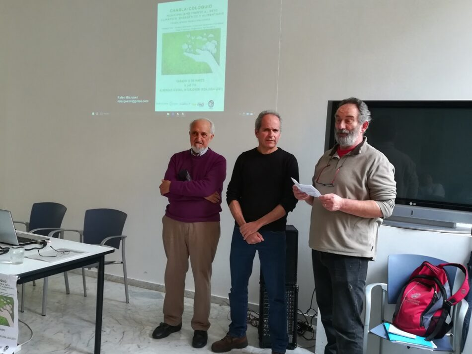 Se celebran unas jornadas en Córdoba para analizar los retos del municipalismo frente al cambio climático