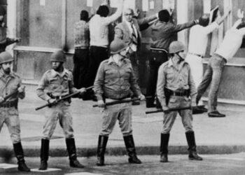 Acto en la CAUM de Madrid por el 42 Aniversaro del Golpe Cívico-Militar en Argentina