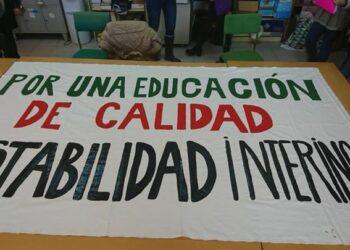 Docentes andaluces inician el próximo lunes 12 de marzo dos semanas de huelga indefinida