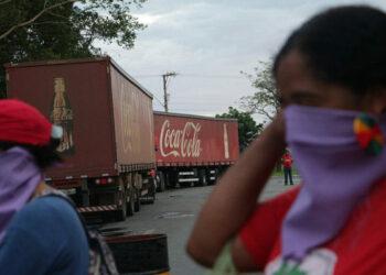 Brasil: Movimientos populares ocupan área de Coca-Cola contra la explotación comercial del agua