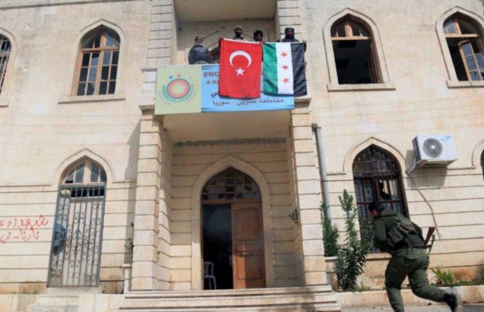 """Erdogan: El Ejército de Turquía apoyado por la oposición siria toma """"el control total"""" de Afrín /KCK: """"Es imposible derrotar al pueblo de Afrin"""""""