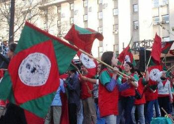 8M. Las mujeres del Movimiento Nacional Campesino Indígena se sumaron al grito global
