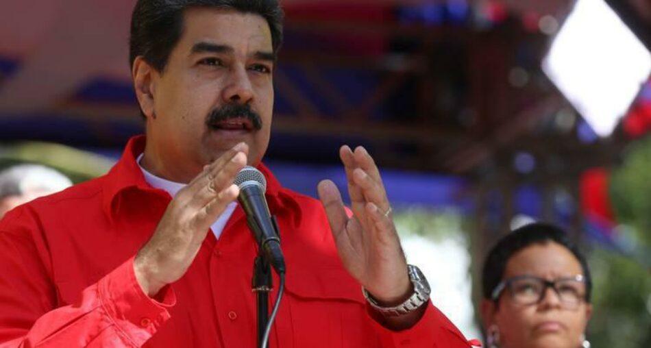 Nicolás Maduro afirma que EE.UU. promueve un golpe de Estado en Venezuela