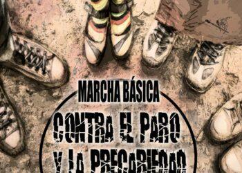 La Marcha Básica contra el paro y la precariedad llega mañana, 24 de marzo, a Madrid