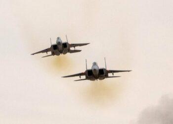 Cazas israelíes lanzan nuevos bombardeos en el sur de Gaza