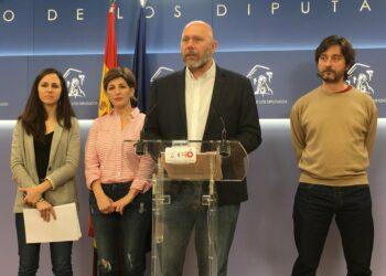 """Sixto explica que las enmiendas de Unidos Podemos a la 'ley mordaza' buscan """"eliminar el carácter sancionador impuesto al ejercicio de derechos y libertades en este país"""""""