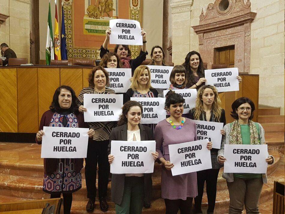 El Parlamento insta al Gobierno andaluz a fomentar la transparencia para superar la brecha salarial entre géneros con el voto en contra de PSOE