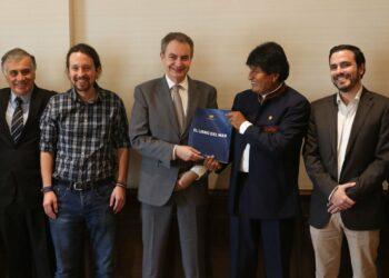Evo Morales denuncia pretensiones de EE.UU. en Venezuela