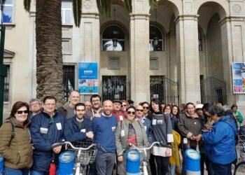 Ernesto Alba apoya las reivindicaciones de los pensionistas y apunta que «si sube el gas, la luz y el pan tiene que subir el poder adquisitivo»