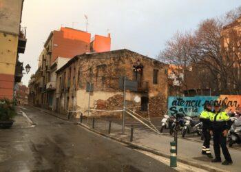 El Ateneu de Sarriá incendiado por un ataque fascista
