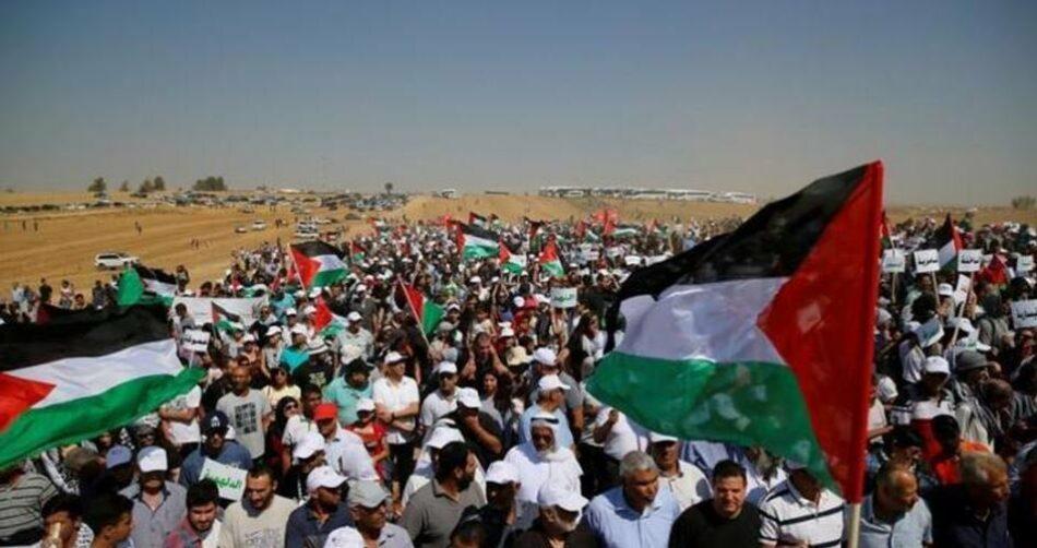 Palestina celebra Día de la Tierra en medio de fuertes protestas