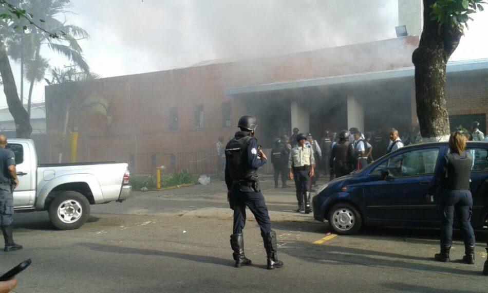 Incendio en comandancia policial venezolana deja 68 fallecidos