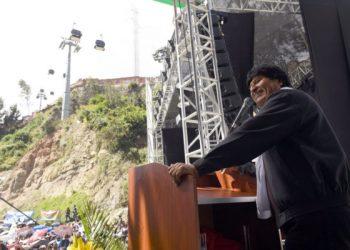 Evo Morales agradece apoyo de diputados europeos a causa marítima de Bolivia
