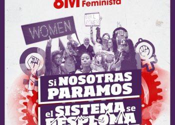 El PCE y la UJCE de León apoyan la huelga feminista del 8 de marzo