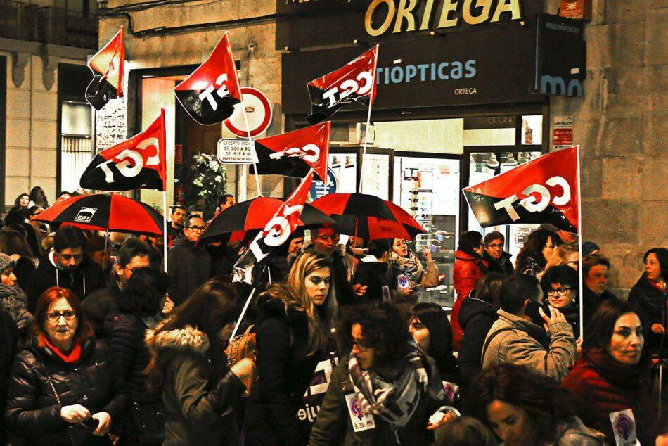 CGT se siente orgullosa de haber favorecido y convocado una Huelga General de 24 horas en el Día de la Mujer Trabajadora