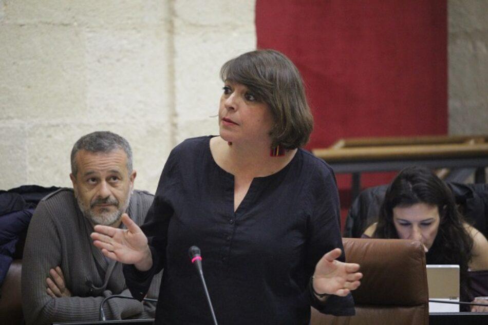 IU desgrana la inacción de Susana Díaz en materia de igualdad con un decálogo de promesas incumplidas