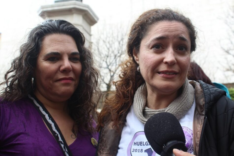 """IU Andalucía califica de """"desborde sin precedentes"""" la Huelga Feminista del 8 de Marzo"""