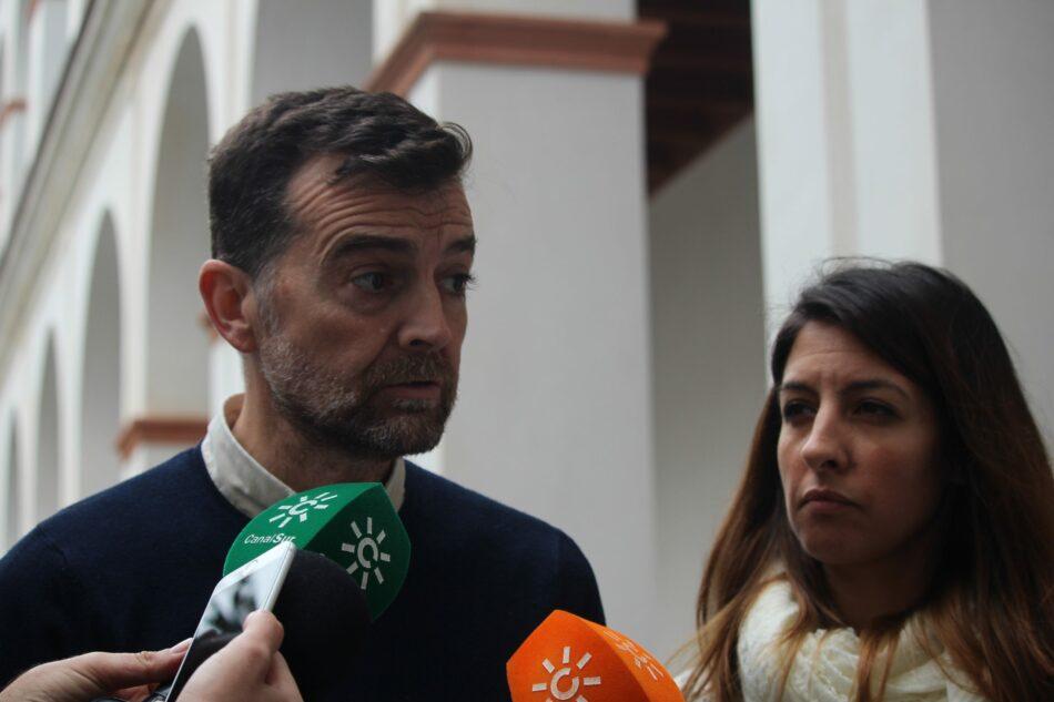 """Maíllo pide a la Junta de Andalucía """"obras y no intenciones"""" para cumplir con la reindustrialización de la comarca de Linares"""