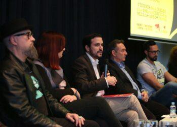 """Alberto Garzón presenta la proposición de ley que impulsa IU para proteger la libertad de expresión y """"homologar"""" el Código Penal a """"la normativa internacional y a la jurisprudencia europea"""""""