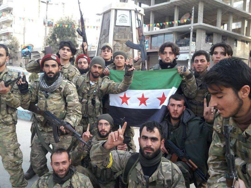 El Ejército turco junto con la oposición siria toma bajo su control la ciudad de Afrín