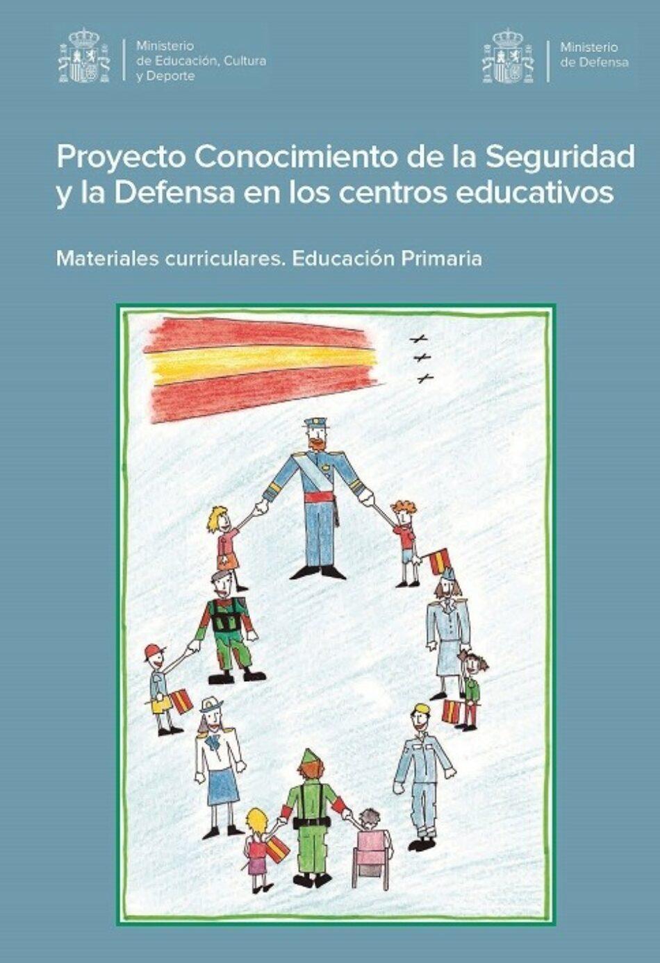 En Comú Podem pide explicaciones al Gobierno por el temario sobre las Fuerzas Armadas que se quiere implantar en las escuelas y exige su retirada