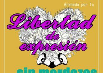 Manifestación por la libertad de expresión sin mordazas en Granada: 17M